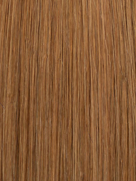 Lustro Straight Hand-Tied Weft Dark Blonde(#8) Remy Human Hair Extension(100 Grams) - FINAL SALE