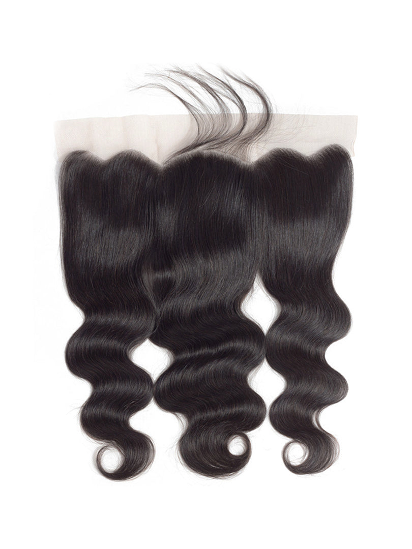 Lustro Body Wave HD Lace 13*4  Remy Human Hair Lace Frontal