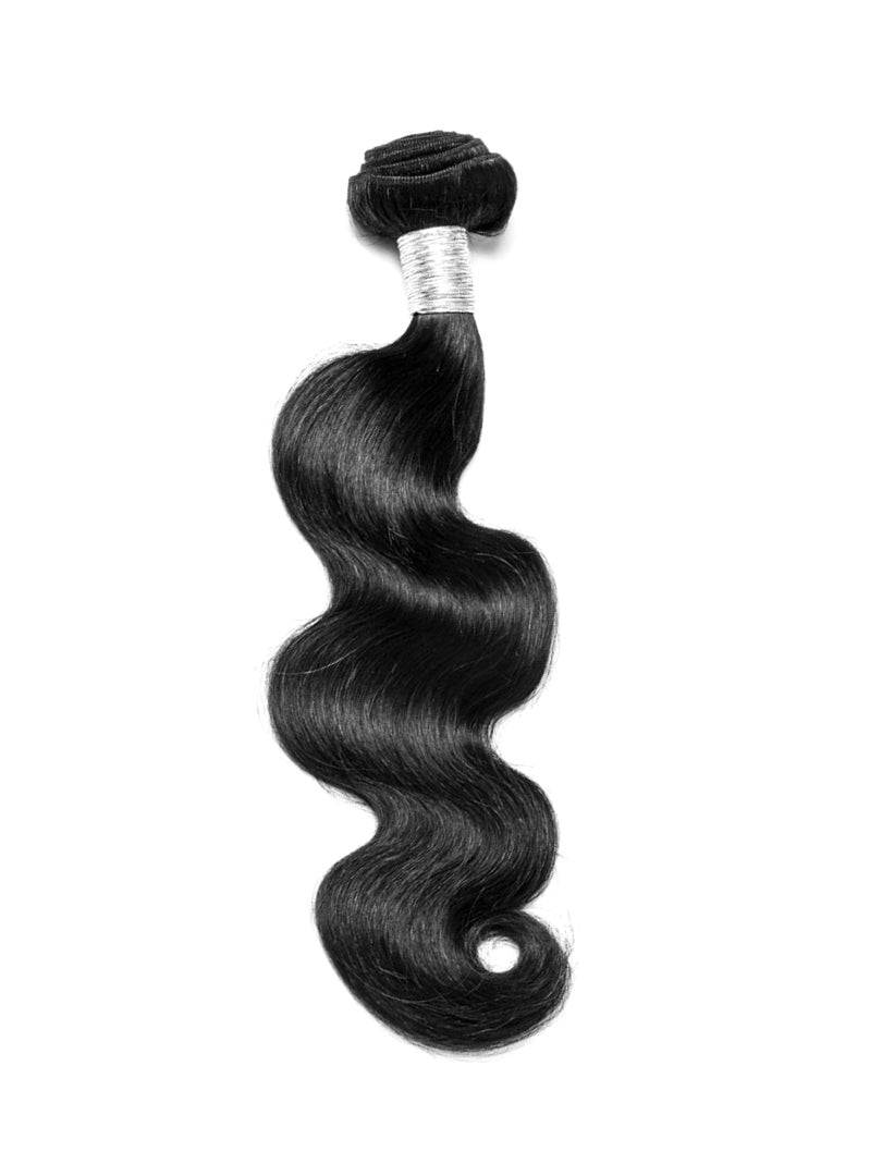 Lustro Body Wave Double Weft Remy Human Hair Bundle