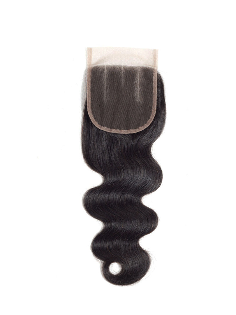 Lustro Body Wave Remy Human Hair HD Lace Closure