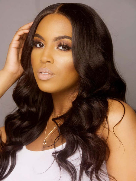 Lustro PREMIER 120% Density Body Wave Closure Wig