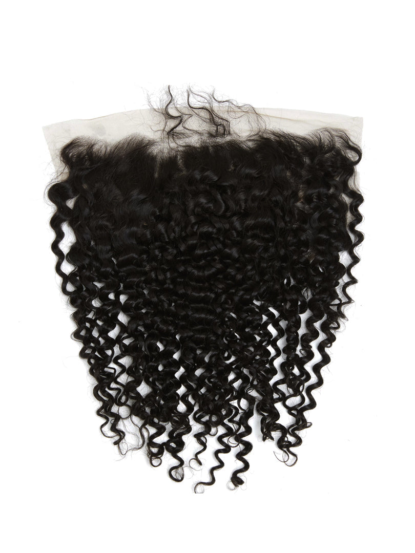 Lustro Kinky Curly 13*4 Remy Human Hair HD Lace Frontal