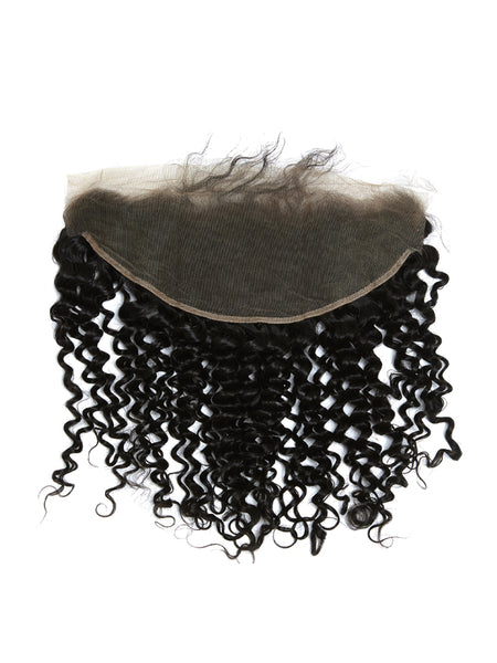 Lustro PREMIER Kinky Curly HD Remy Human Hair Lace Frontal