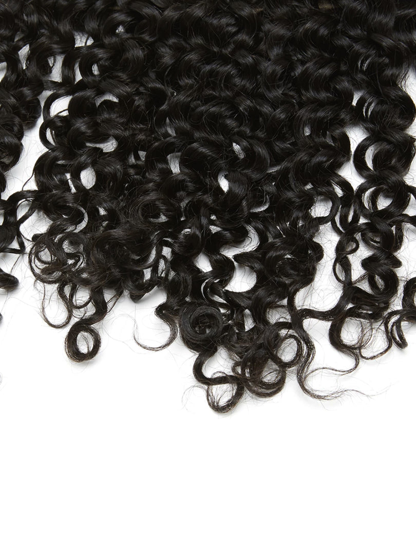 Lustro Kinky Curly Remy Human Hair Lace Frontal
