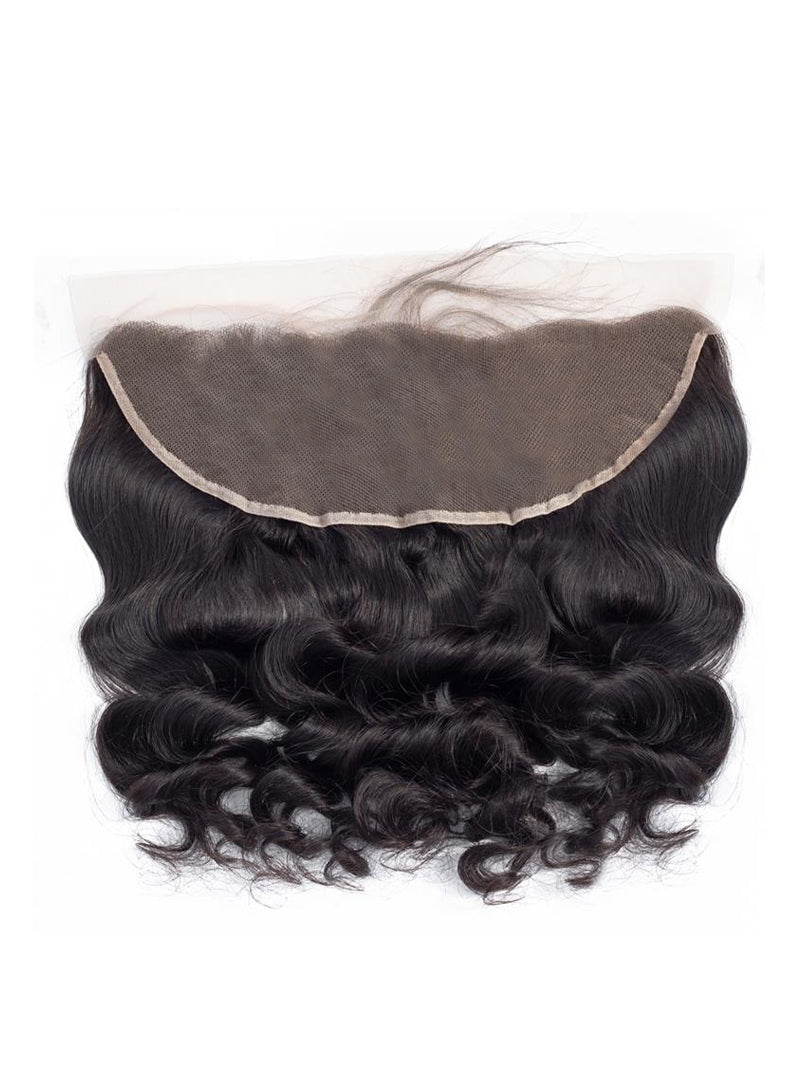 Lustro Loose Wave Remy Human Hair Lace Frontal
