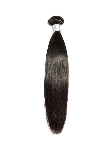 Lustro Straight Double Weft Remy Human Hair Bundle