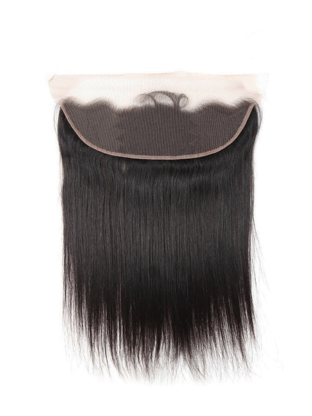 Lustro Straight Remy Human Hair Lace Frontal