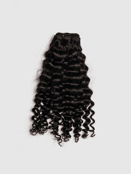 Lustro Kinky Curly 7pcs Clip-in Human Hair Extensions