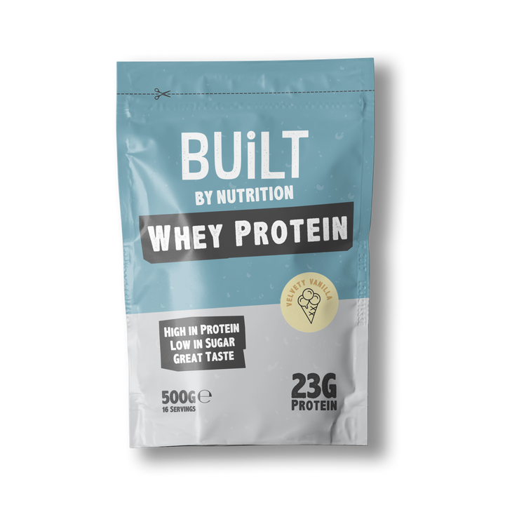Built By Nutrition Vanilla Whey Protein