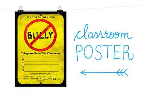 BULLY Classroom Poster