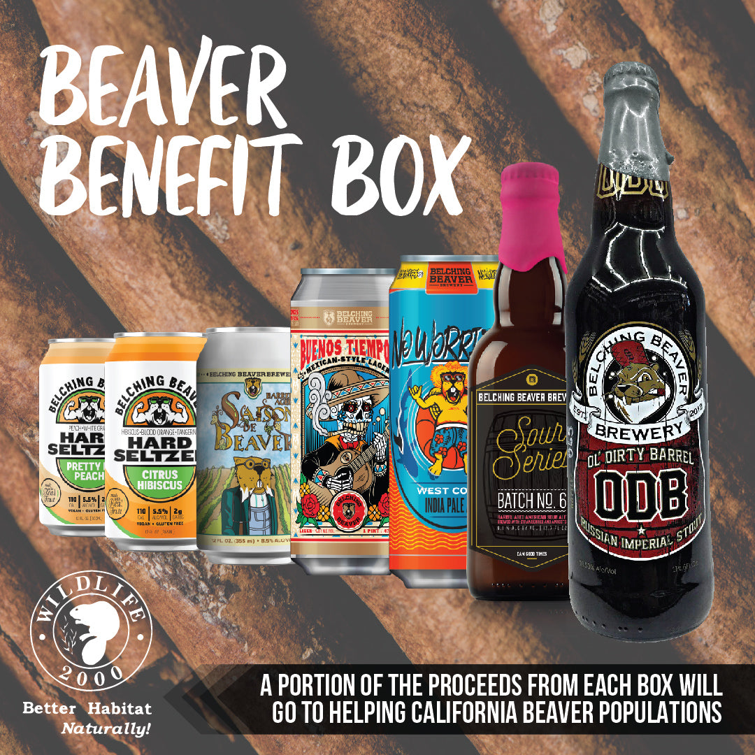 *Pre-Order* Beaver Benefit Beer Box $60 - PLEASE READ DESCRIPTION FOR DETAILS