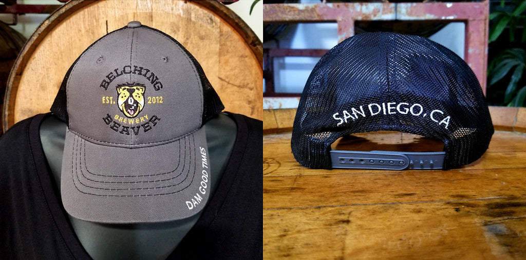 Charcoal Mesh SD Hat