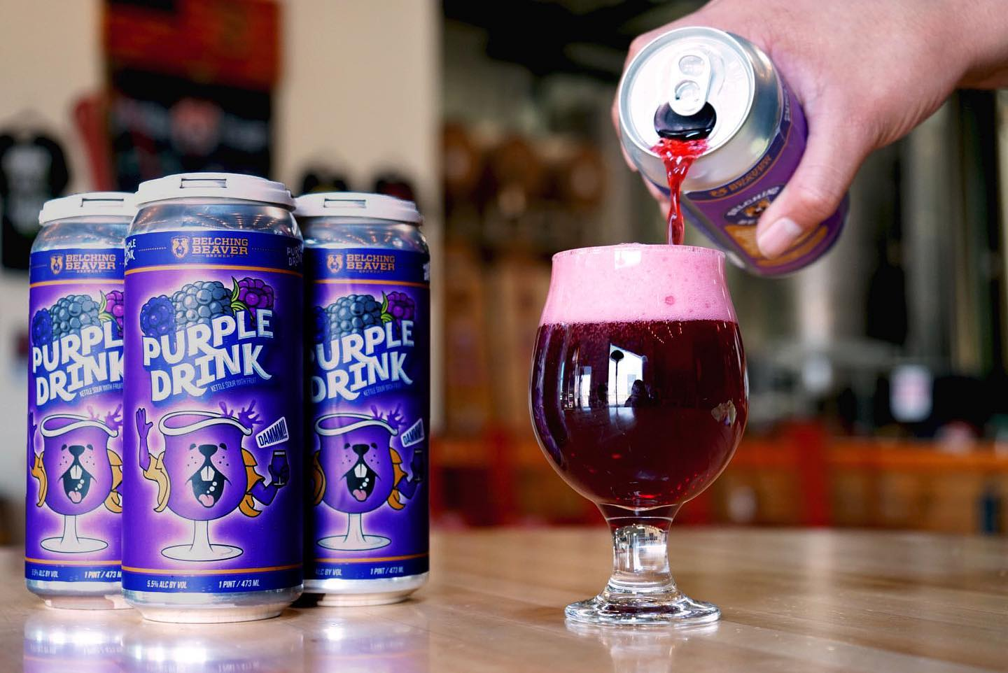Purple Drink Kettle Sour 4-pack