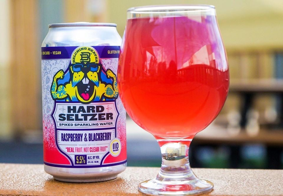 Raspberry & Blackberry Hard Seltzer 6-Pack