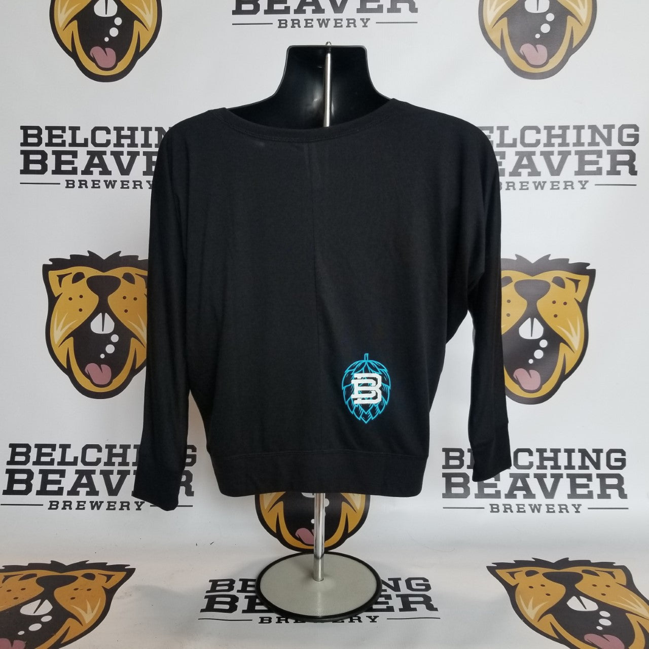 Women's Black Long Sleeve