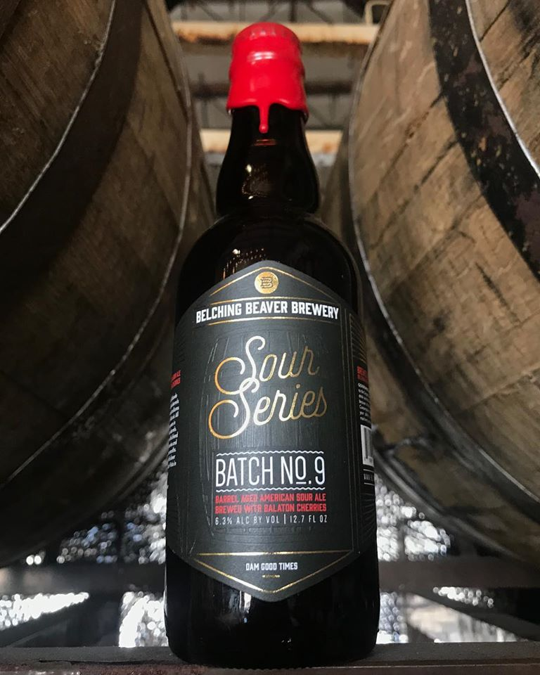 Batch 9 - Barrel Aged American Sour  (12.6oz Bottle)