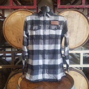 Flannel - Grey/Black