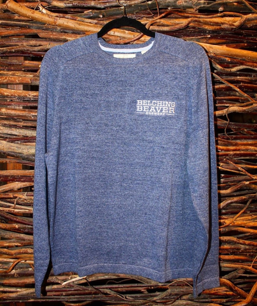 Blue Crewneck Sweater