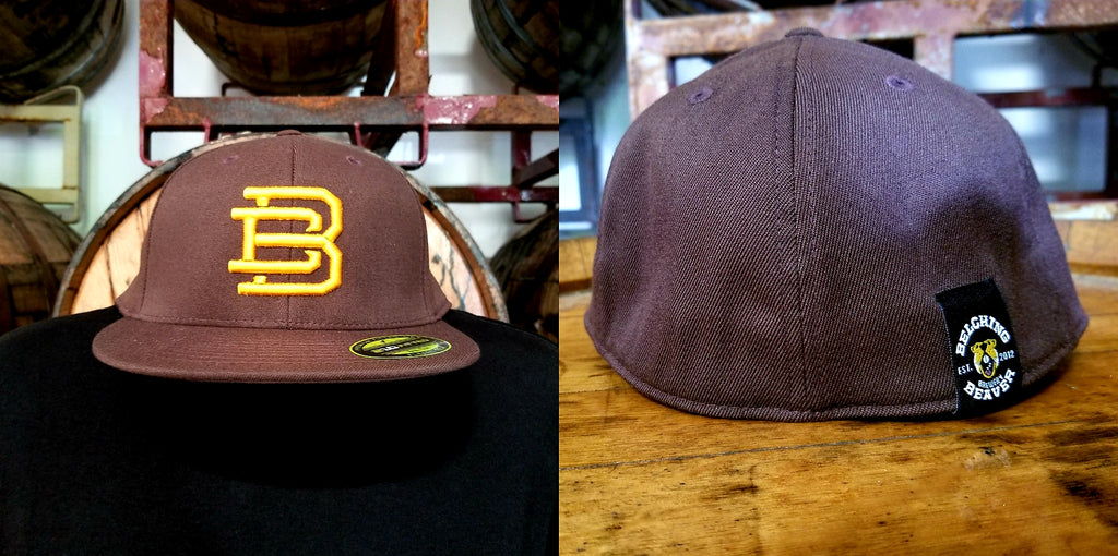 Brown/Yellow BB Fitted Hat