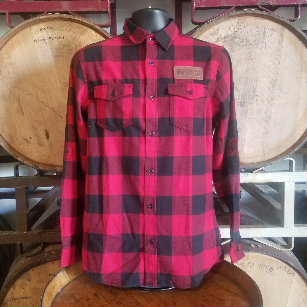 Flannel - Red/Black