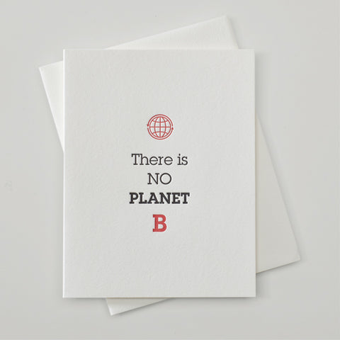 8312- There is No Planet B Climate Change Card