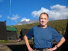 Dr. Stuart Rose at Kilimanjaro