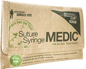 Suture/Syringe MEDIC available with Lidocaine