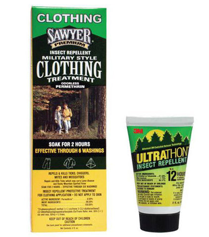 Ultrathon and Permethrin Clothing Soak