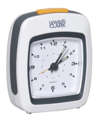 Lewis & Clark Analog Travel Alarm Clock