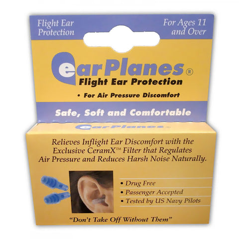 EarPlanes for ear discomfort