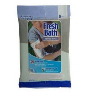 Fresh Bath Travel Wipes for travel