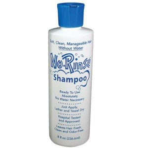 No-Rinse Shampoo for travel