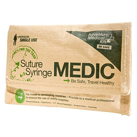 Suture Syringe Medic First Aid Kit