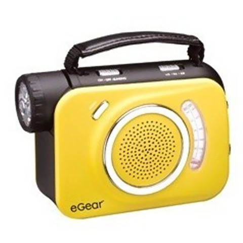 ECO Charge Weather Alert AM/FM Radio with 3-LED Light