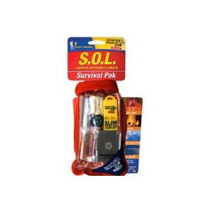 S.O.L. Survival Pak Survive Outdoors Longer