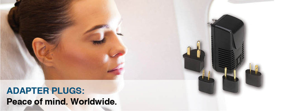 Electrical Adaptor Plugs, worldwide peace of mind
