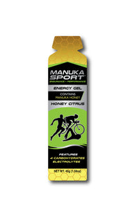 Manuka Sport Energy Gel – Honey Citrus