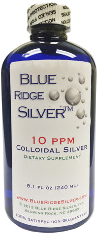 10 ppm Colloidal Silver - 8 oz PETE