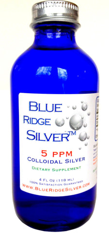 5 ppm 4 ounce Colloidal Silver