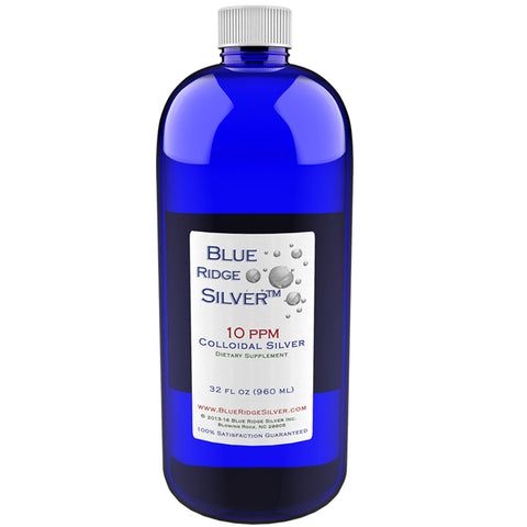 10 ppm Colloidal Silver - 32 oz PETE