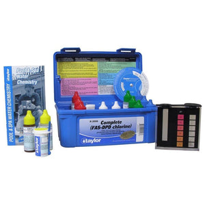 TAYLOR TECHNOLOGIES INC K-2006 TEST KIT - CHLORINE FAS-DPD