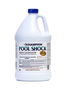 Liquid Chlorine Pool Shock 12.5% Available Chlorine
