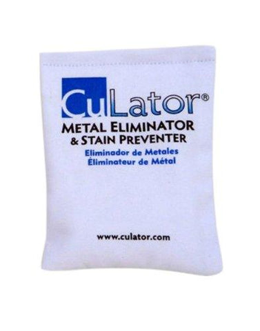 Culator/Metal Eliminator and Stain Preventer for Pools and Spa