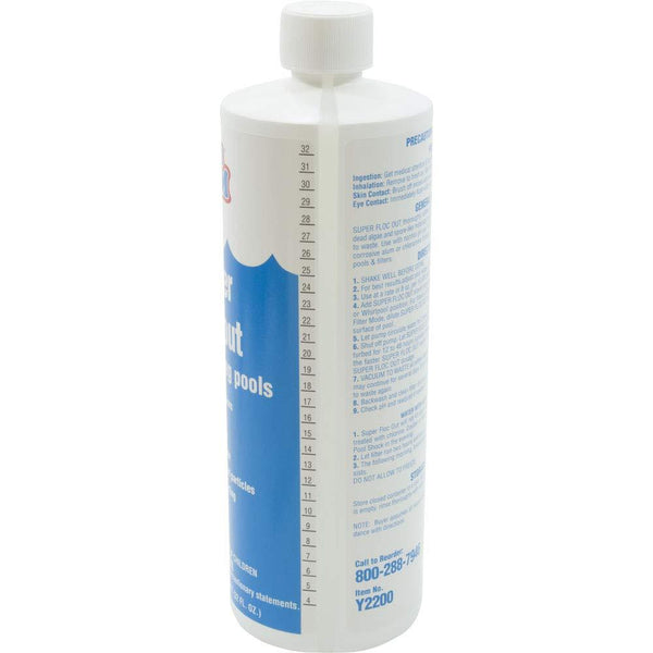 In The Swim Super Floc Out Pool Water Clarifier - 1 Quart