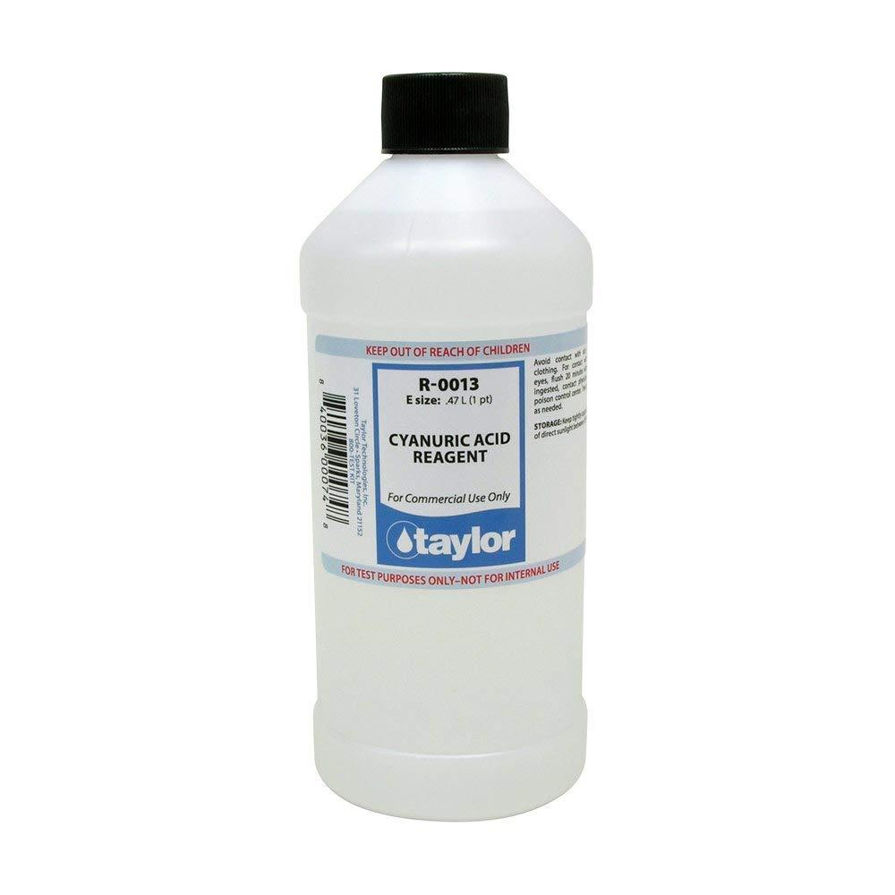 TAYLOR TECHNOLOGIES INC R-0013-E CYANURIC ACID REAGENT 16 OZ