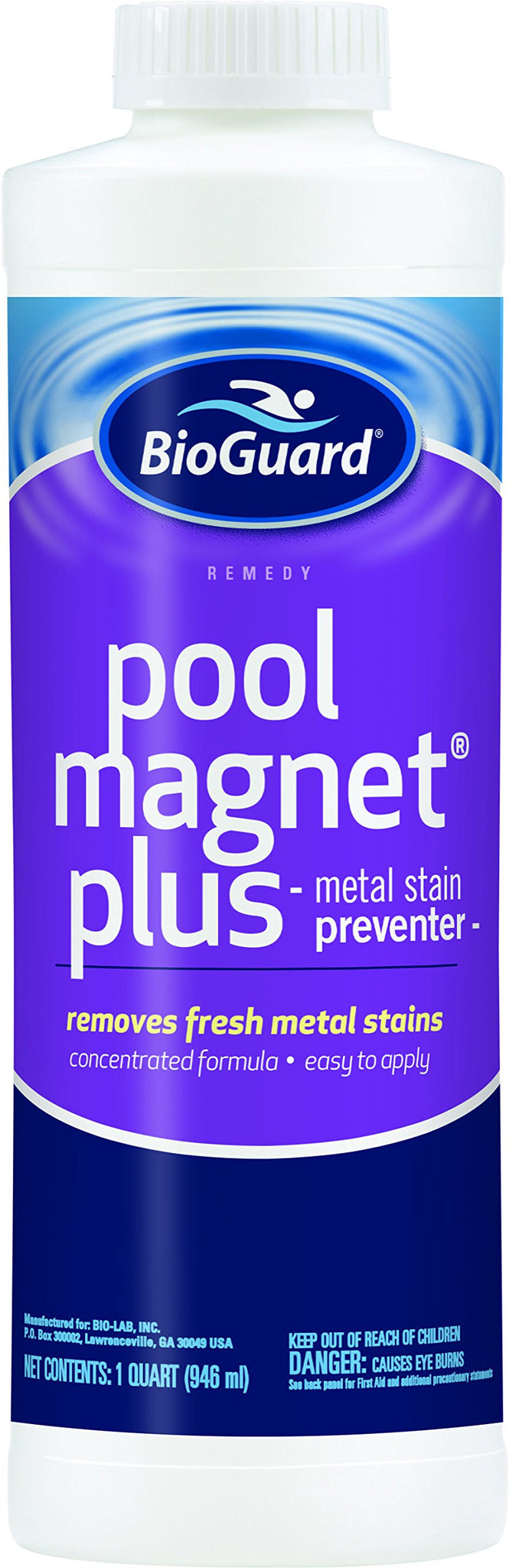 BioGuard Pool Magnet Plus Metal Stains Remover and Preventer