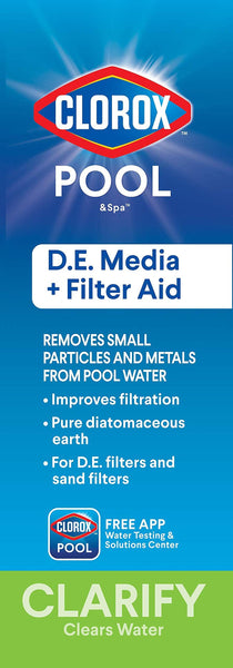 Diatomaceous Earth (D.E) Plus Filter Aid for Heavy Metals