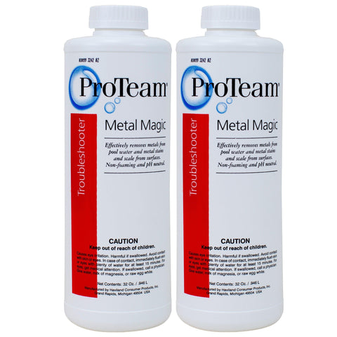 Proteam Metal Magic - Prevent Metal Stains in Your Swimming Pool