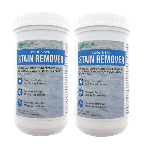 Swimming Pool & Spa Stain Remover for Vinyl Liners, Fiberglass, Plaster and Metals