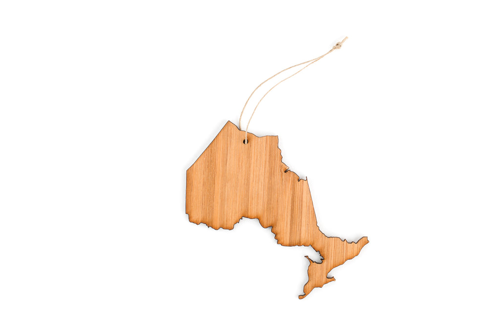 Ontario Tree Ornament